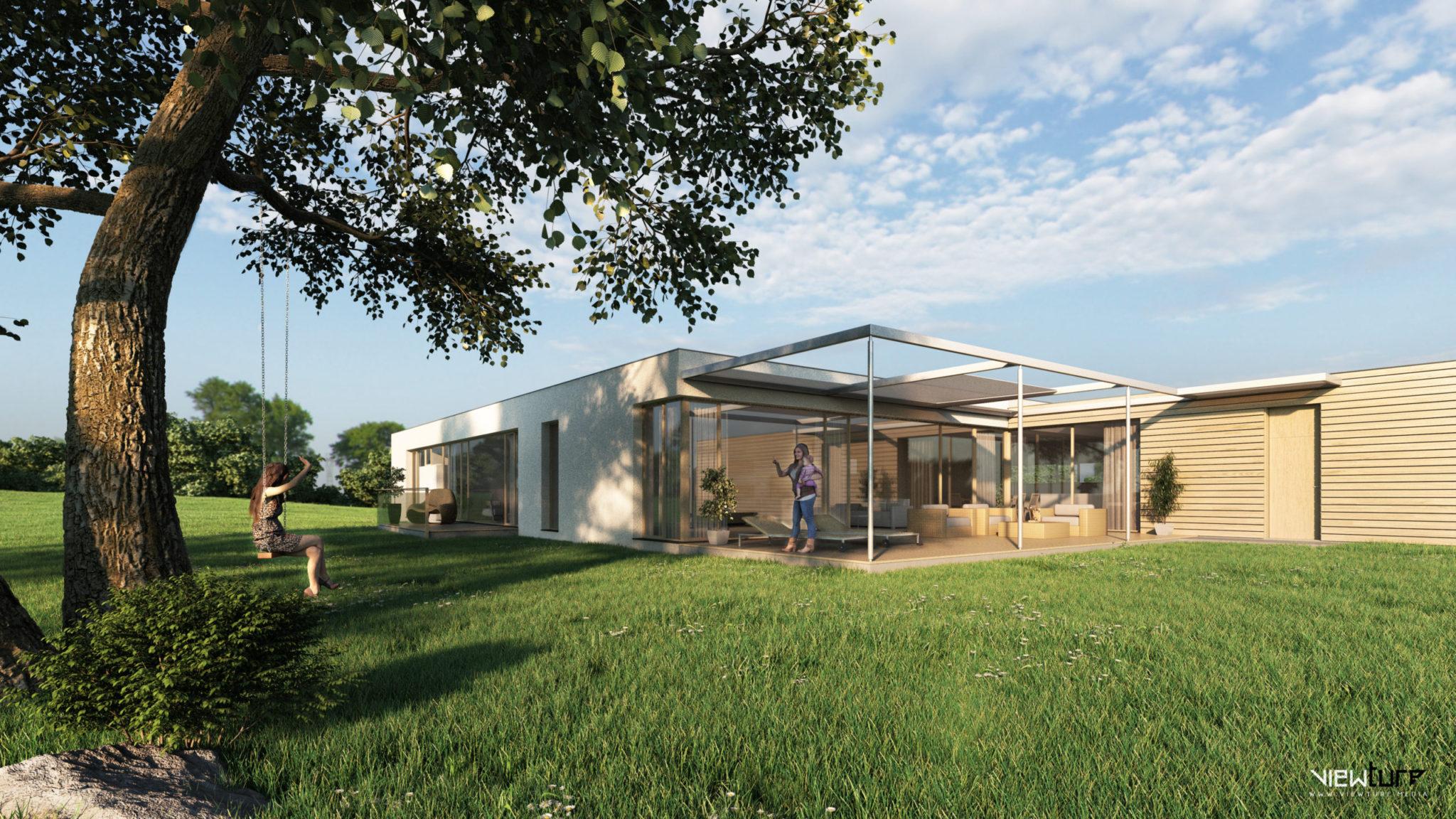 viewture bungalow exterior - Viewture Visualisierung