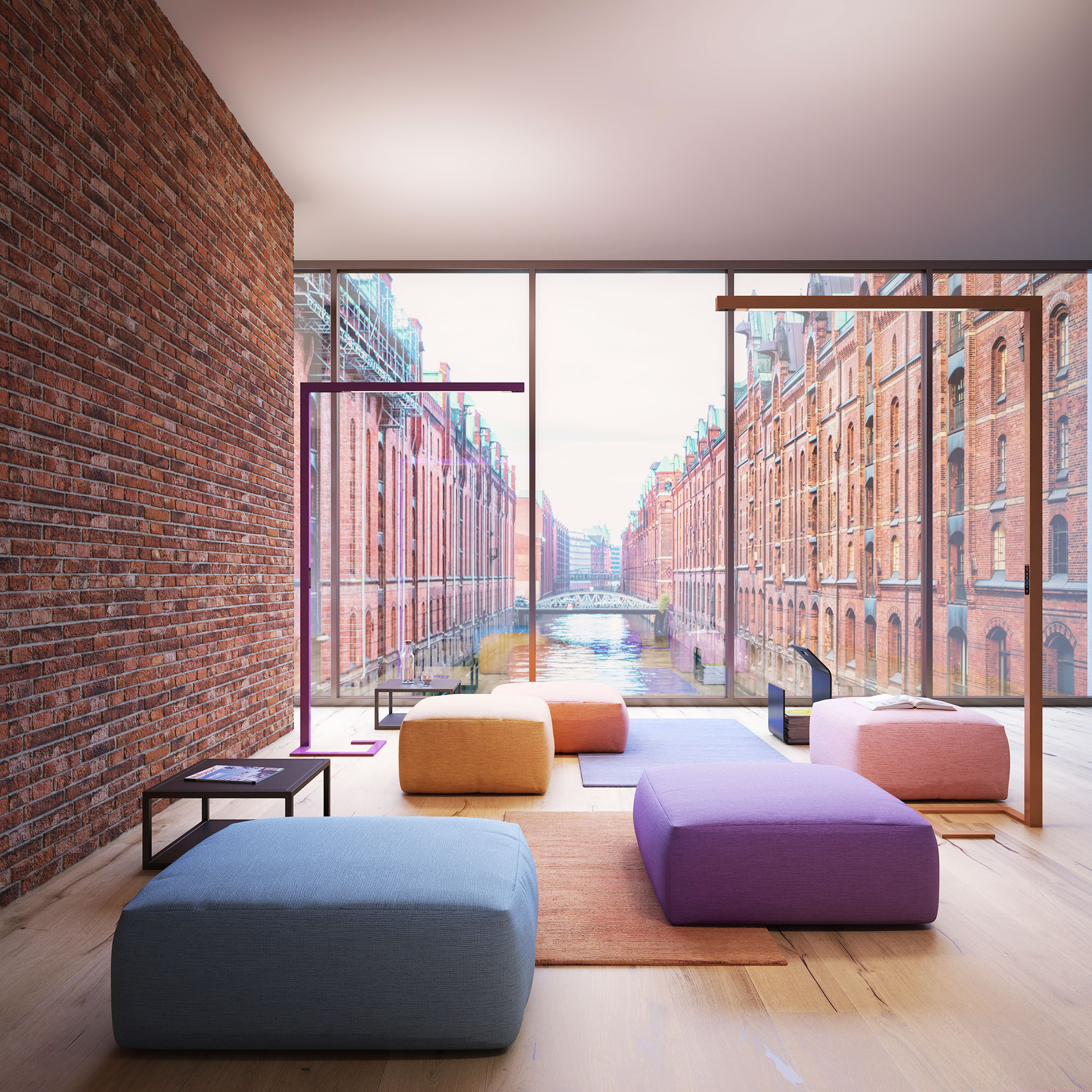 Hypro F Stehleuchte City Lounge