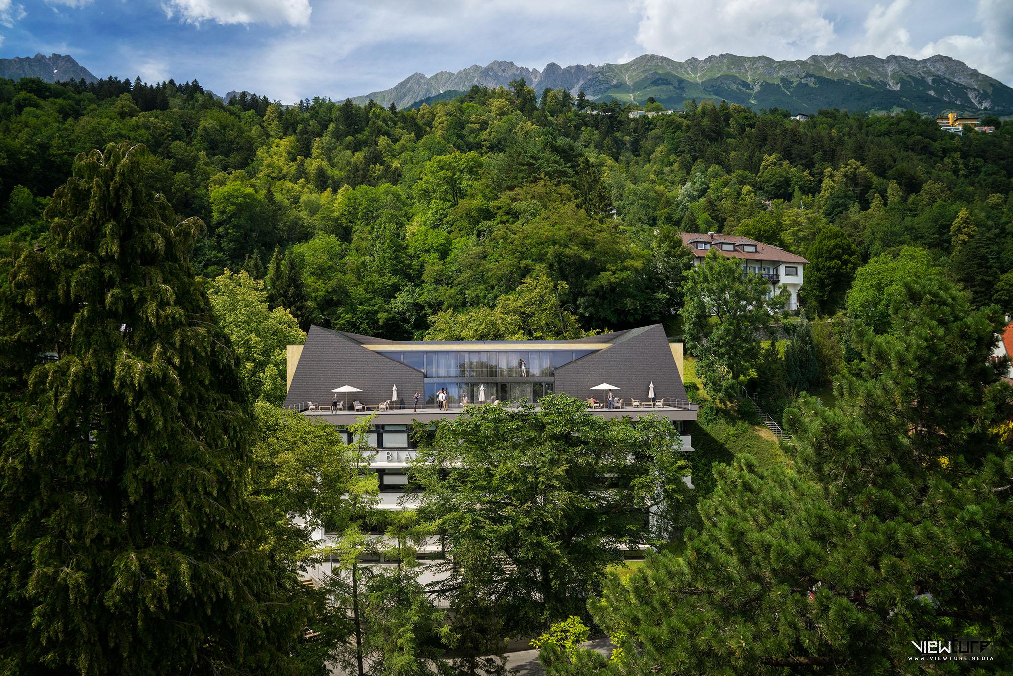 Eine Studie für die Modernisierung der Tourismusschule Villa Blanka